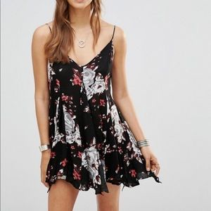 Intimately Free People Alyson tunic dress slip
